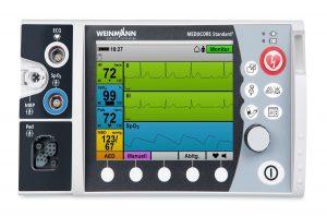 aed weinmann, aed alfa medika, aed, automatic external defibrillator, pasien monitor